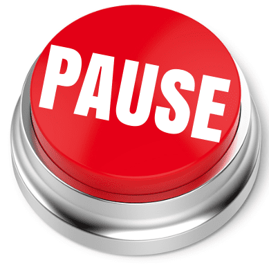 We are on a PAUSE